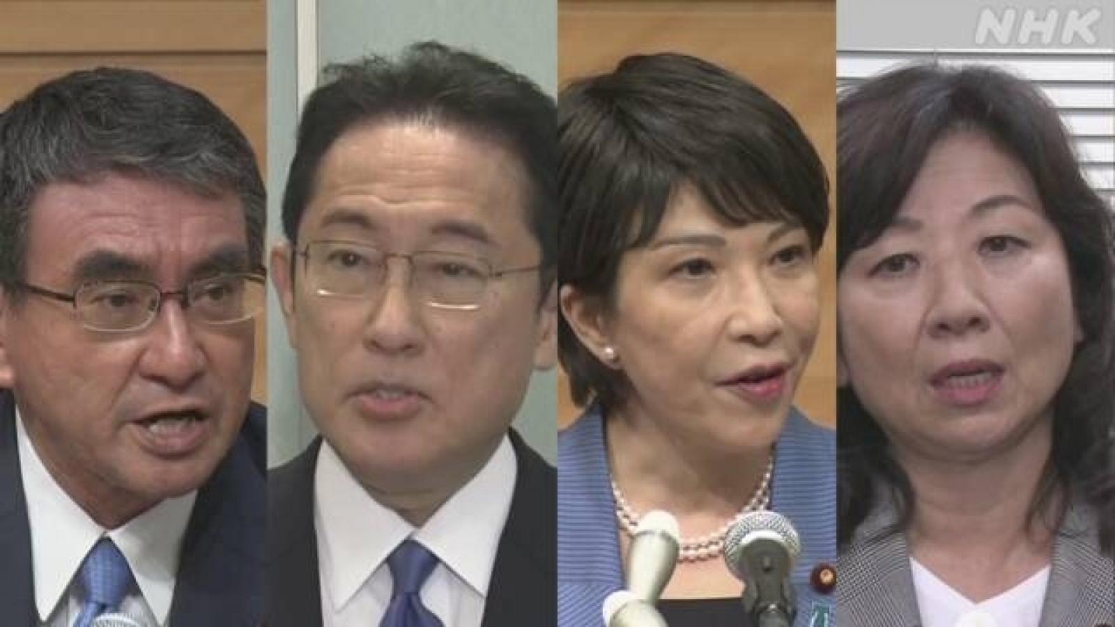 Bầu cử Chủ tịch đảng cầm quyền Nhật Bản đã đến giờ G