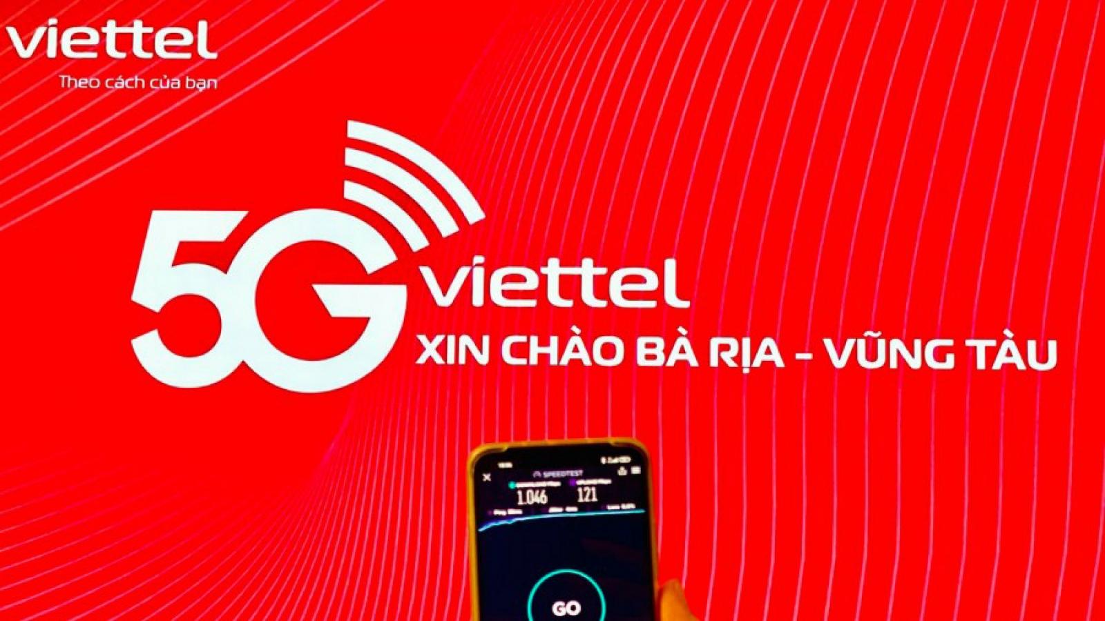 Viettel chính thức khai trương mạng 5G tại tỉnh Bà Rịa-Vũng Tàu