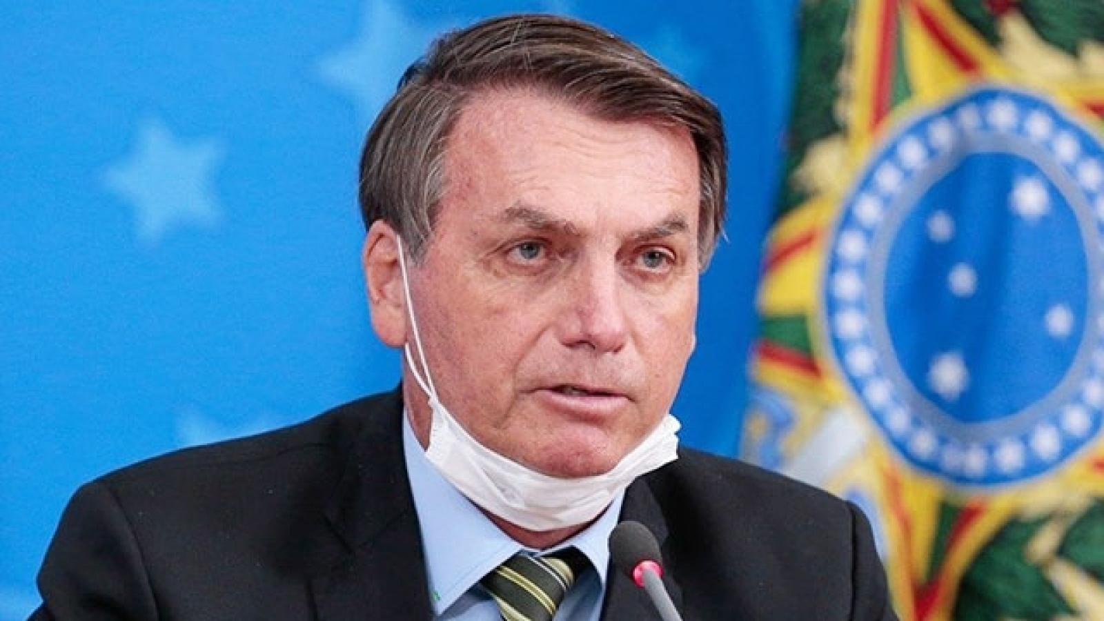 Tổng thống Brazil tự cách ly tại nhà sau khi tham dự Đai hội đồng Liên Hợp Quốc