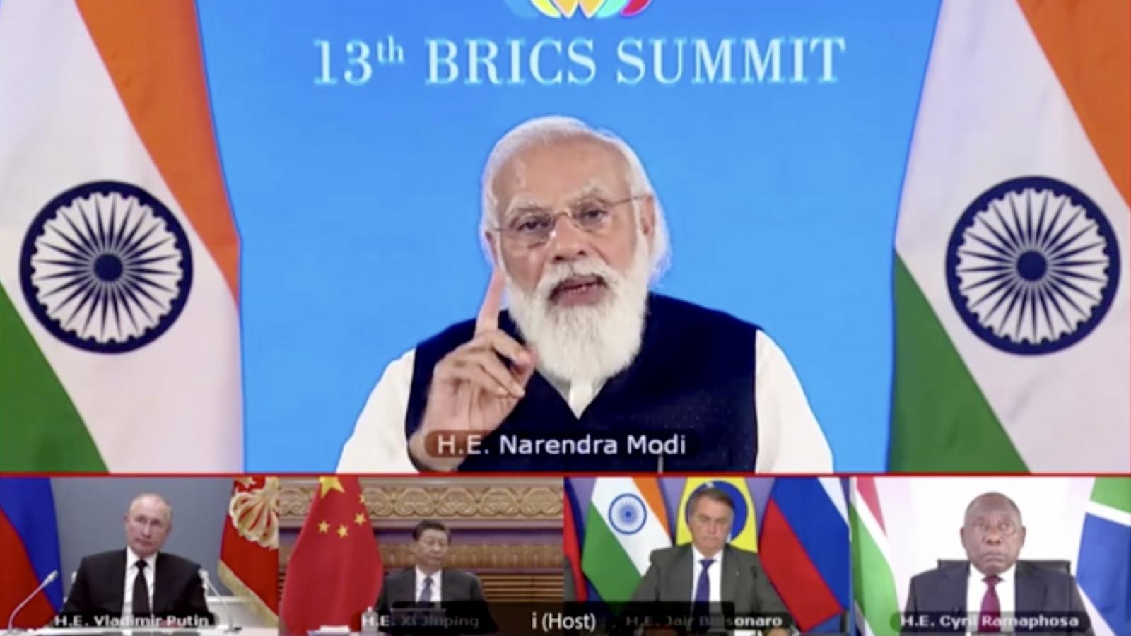 Lãnh đạo BRICS quyết chống khủng bố, ngăn chặn Covid-19