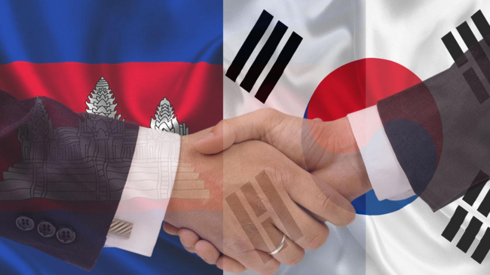 Campuchia - Hàn Quốc sẽ ký Hiệp định Thương mại tự do vào tháng 10/2021