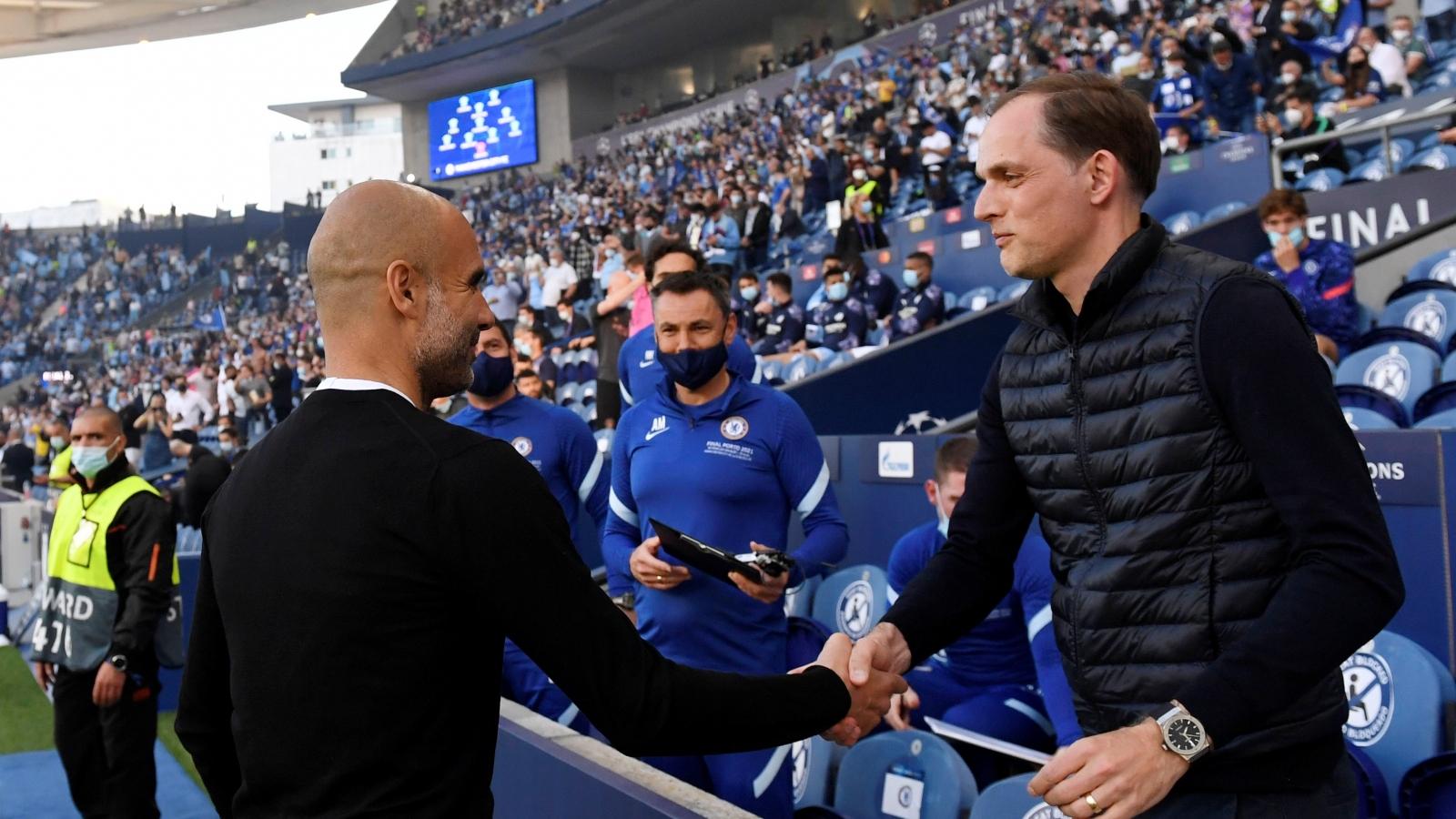 """Trực tiếp Chelsea - Man City: Trận chiến """"đỉnh cao"""" ở Stamford Bridge"""