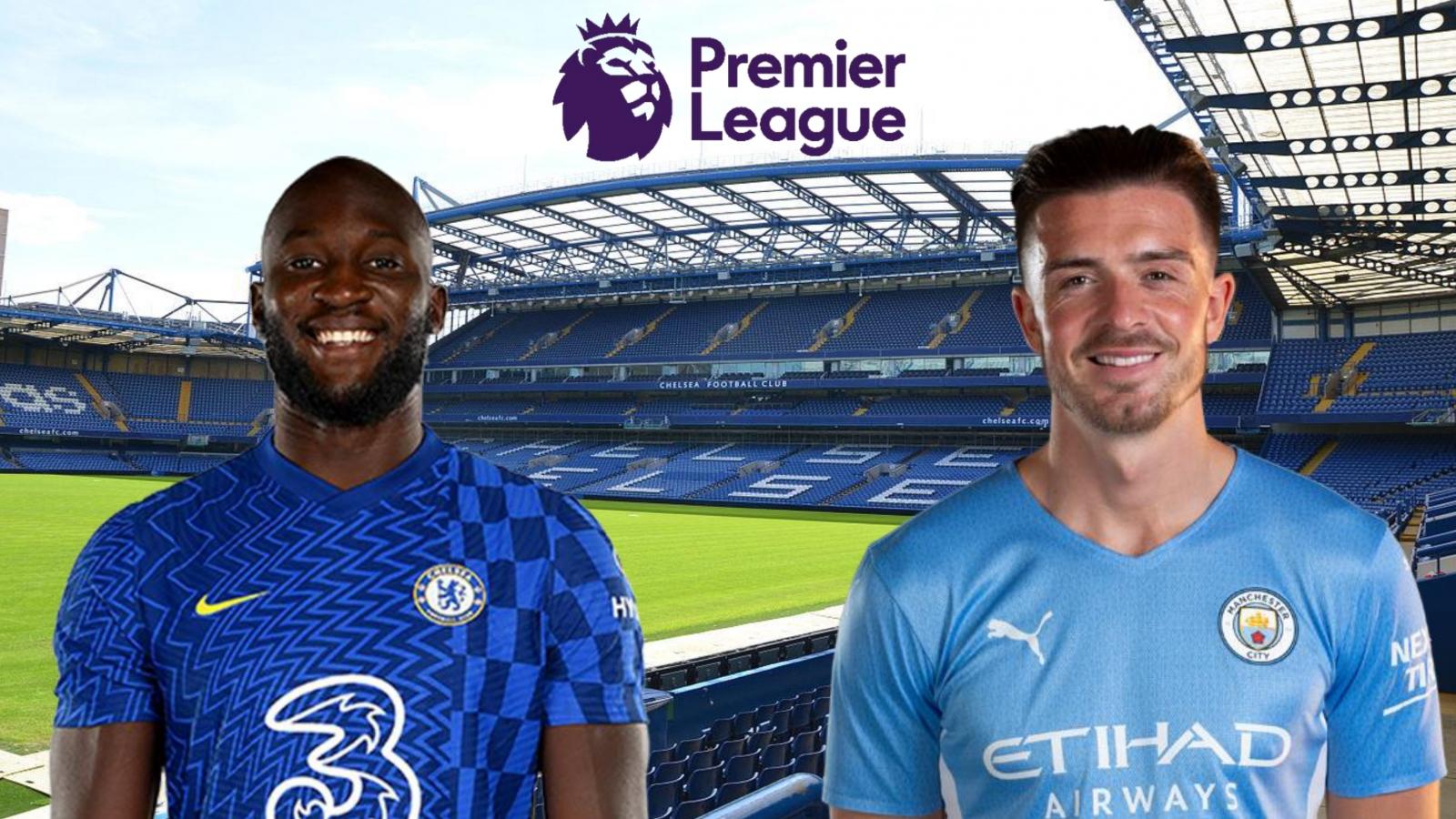 Trực tiếp Chelsea 0-0 Man City: Lukaku đấu Ruben Dias
