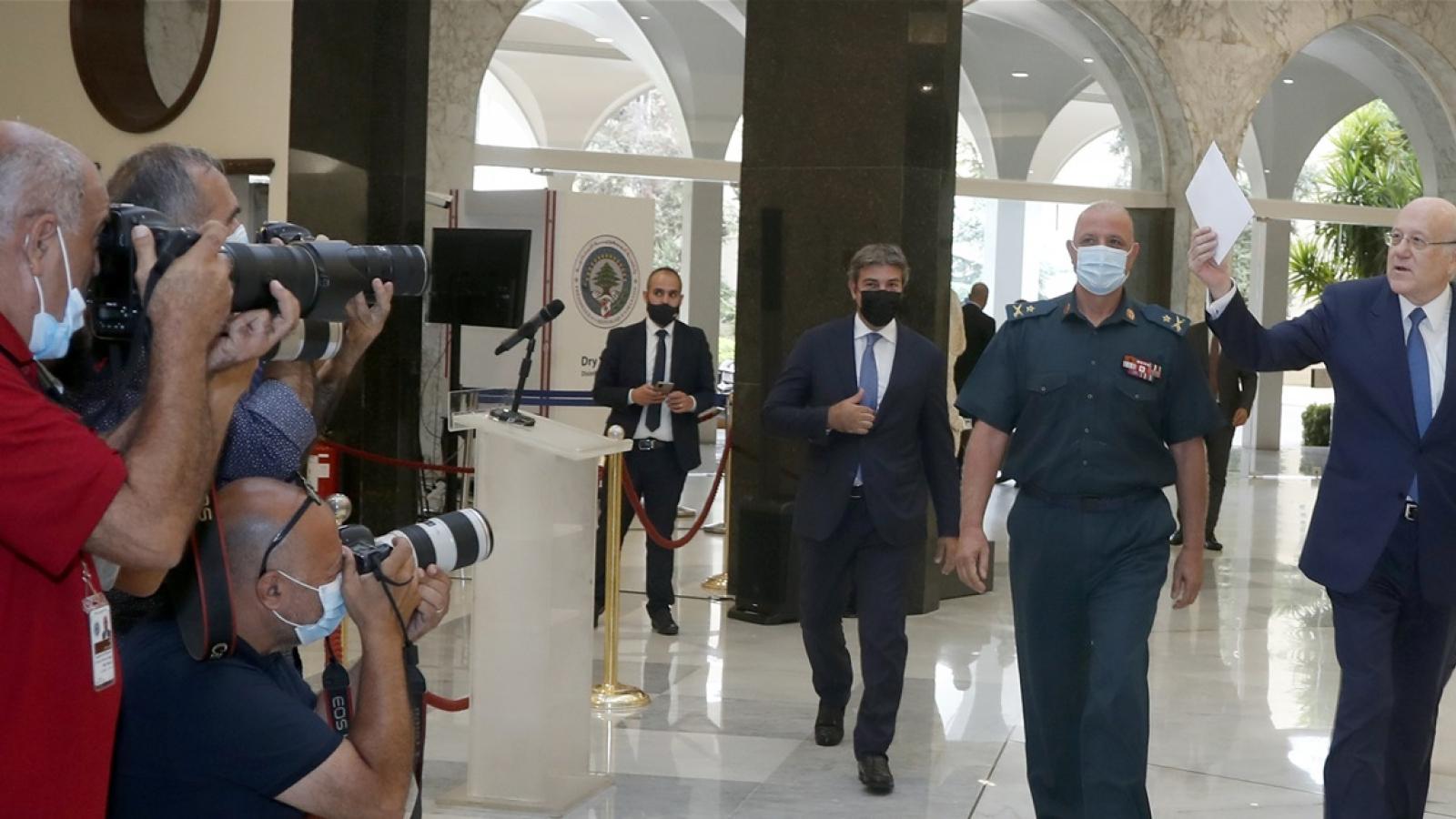 Chính phủ mới tại Lebanon họp phiên đầu tiên, ưu tiên giải quyết khủng hoảng kinh tế
