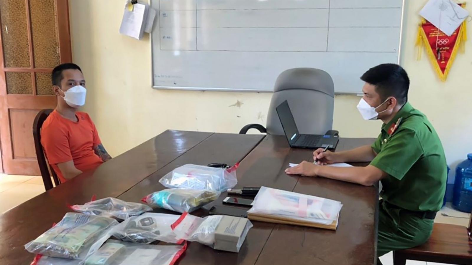 Bắt ông chủ doanh nghiệp vận tải có tiếng ở Nghệ An vì liên quan ma túy