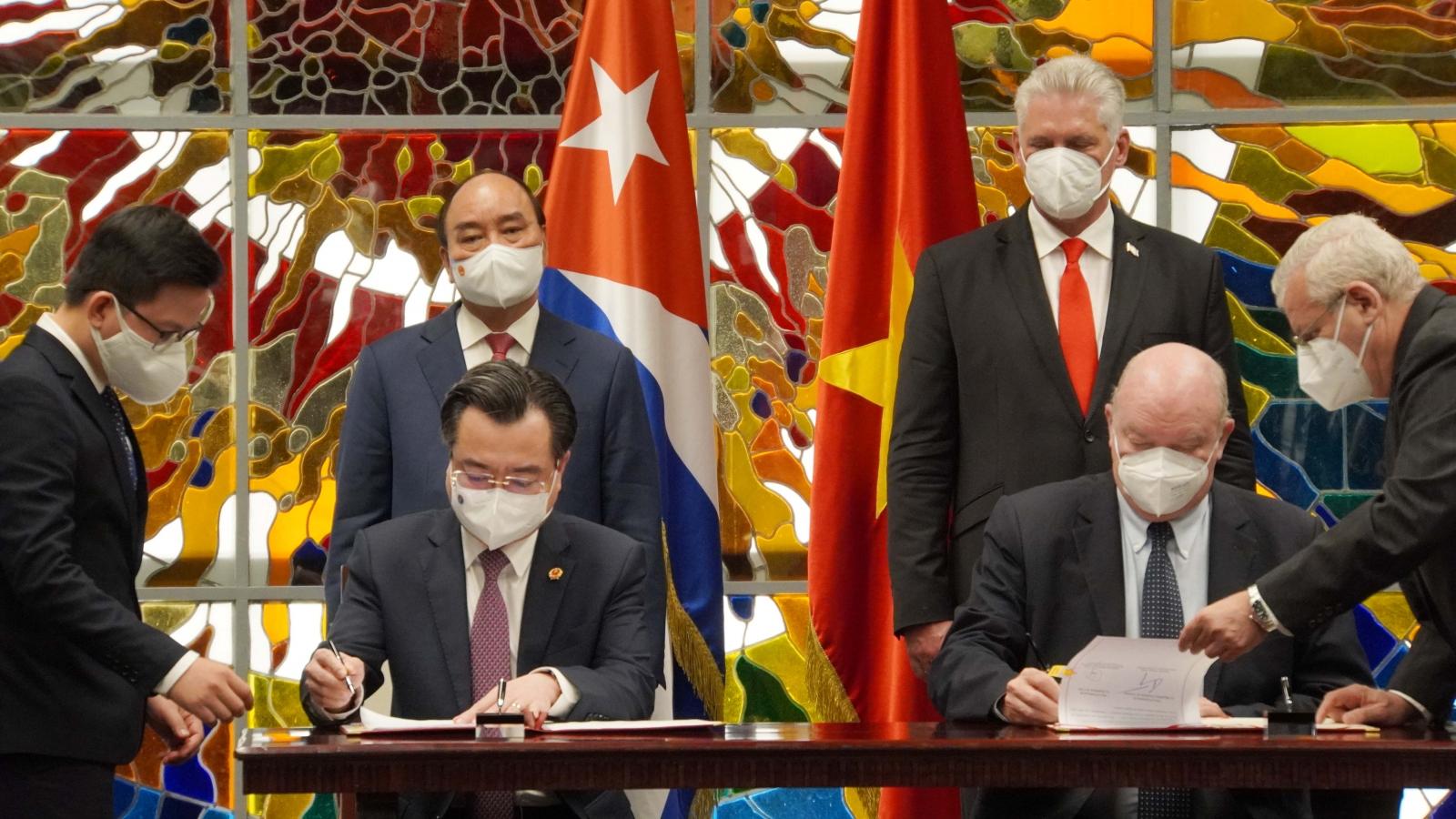 Cuba ưu tiên cung ứng vaccine cho Việt Nam