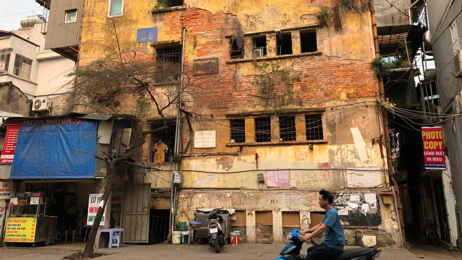 Hà Nội đồng ý chủ trương cải tạo, xây dựng lại chung cư cũ trên địa bàn thành phố