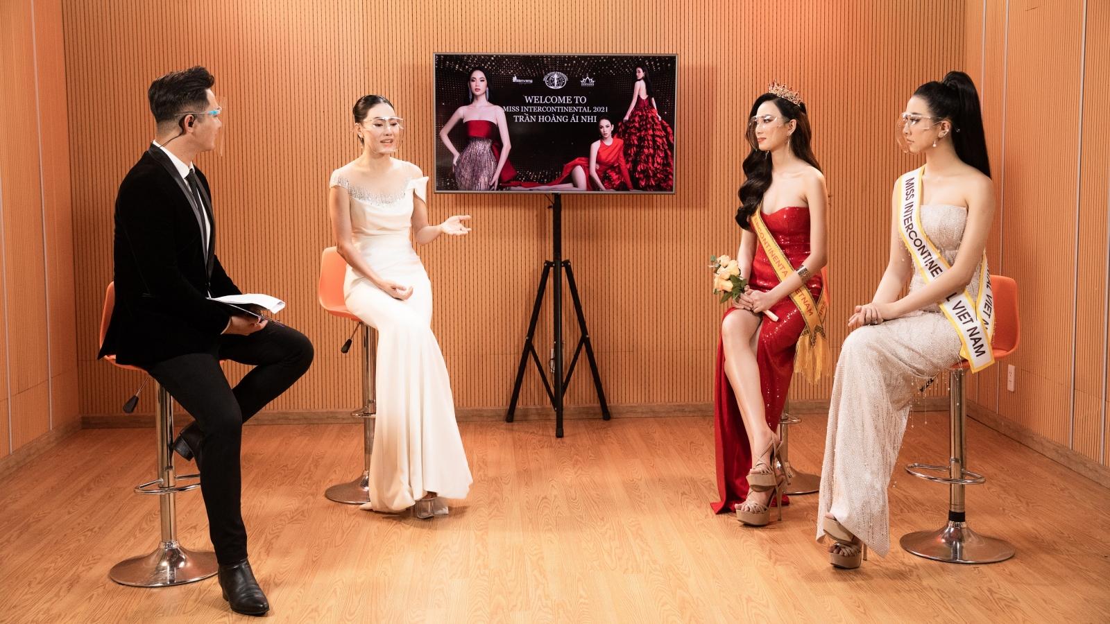 Trần Hoàng Ái Nhi trở thành đại diện Việt Nam tại Miss Intercontinental 2021