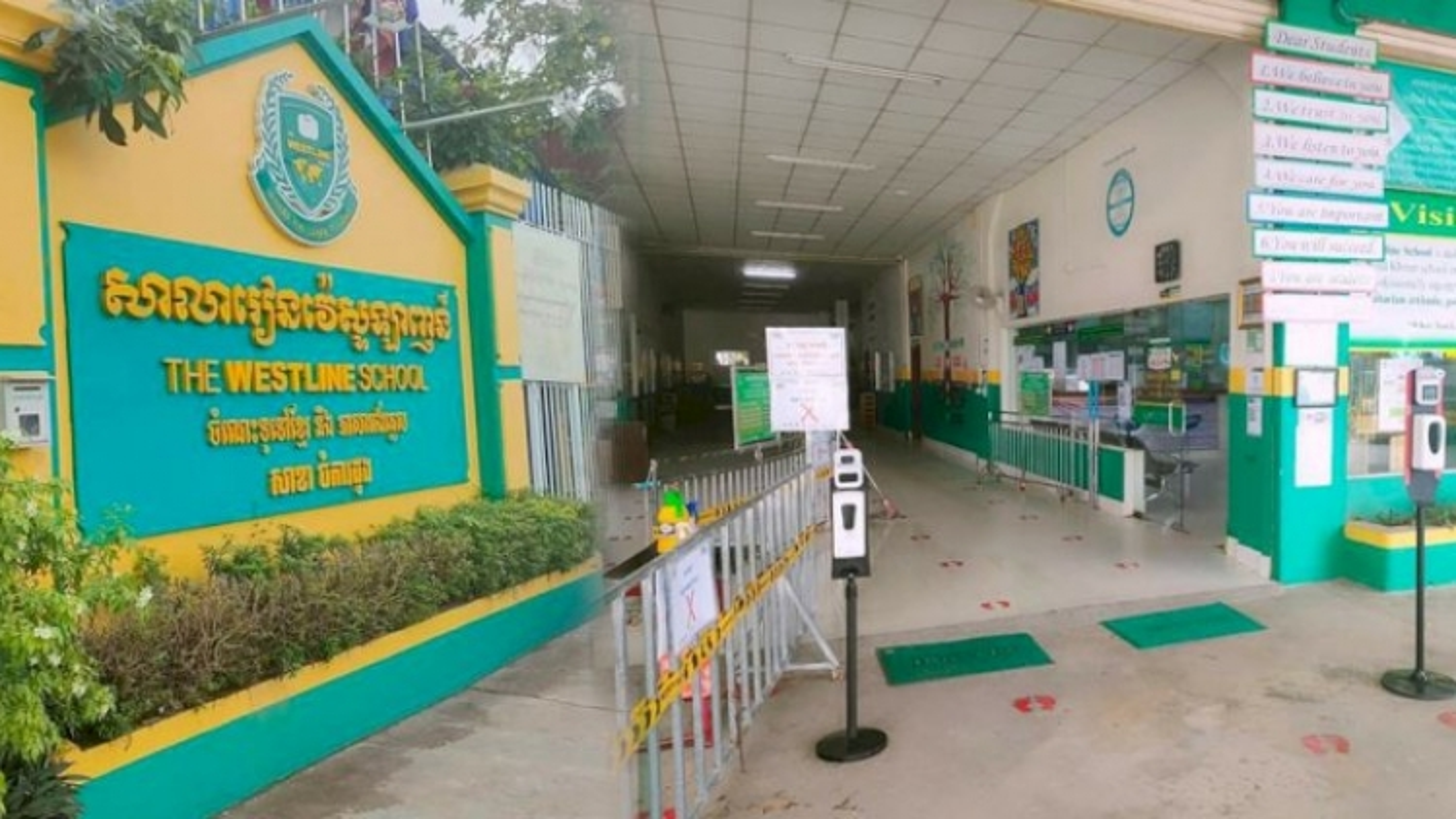 Một số trường học tại Phnom Penh (Campuchia) đóng cửa khẩn cấp sau 2 ngày mở lại