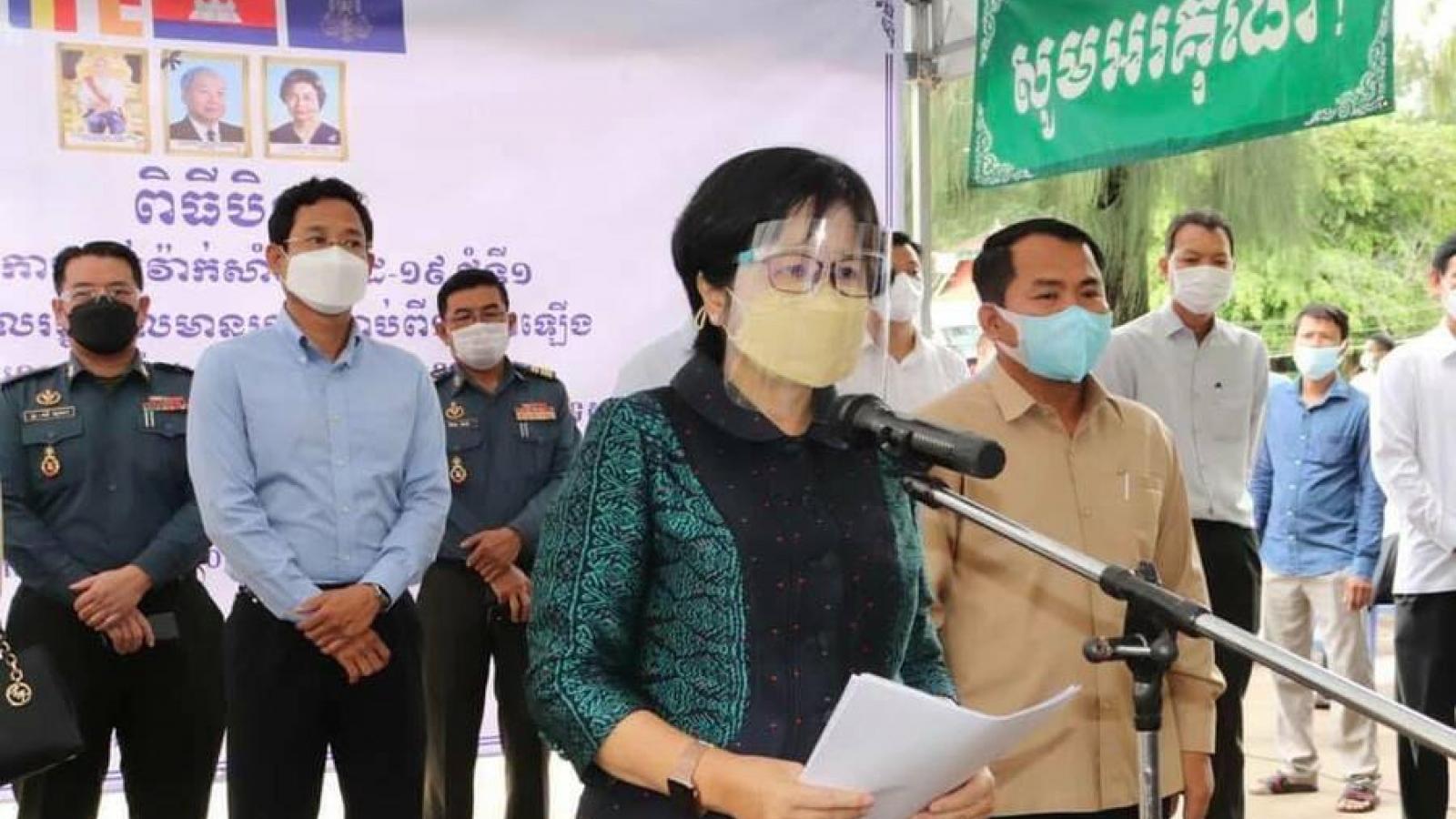 Campuchia đủ vaccine ngừa Covid-19 để tiêm mũi thứ 3cho người dân
