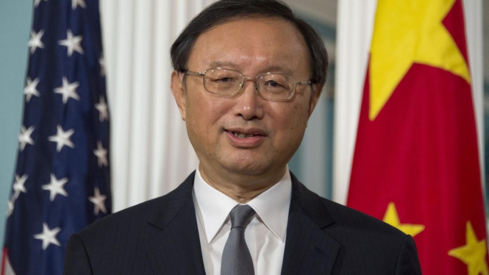 Nhà ngoại giao Trung Quốc Dương Khiết Trì gặp đại diện lưỡng đảng của Mỹ
