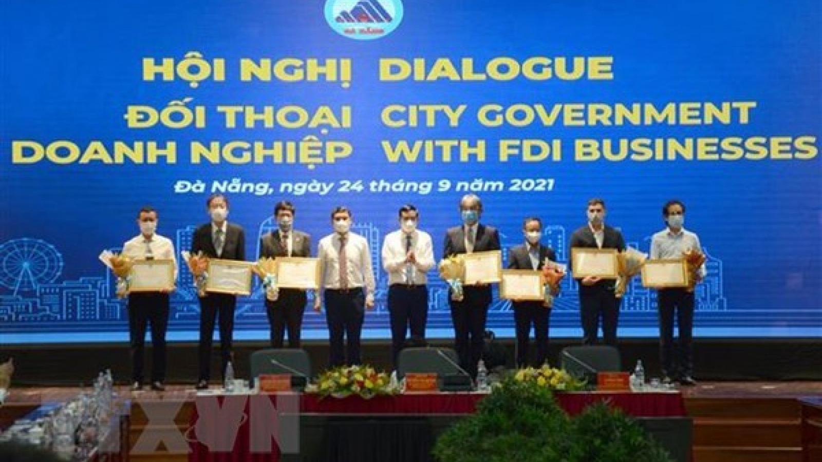 FDI businesses contribute ideas for production restoration in Da Nang