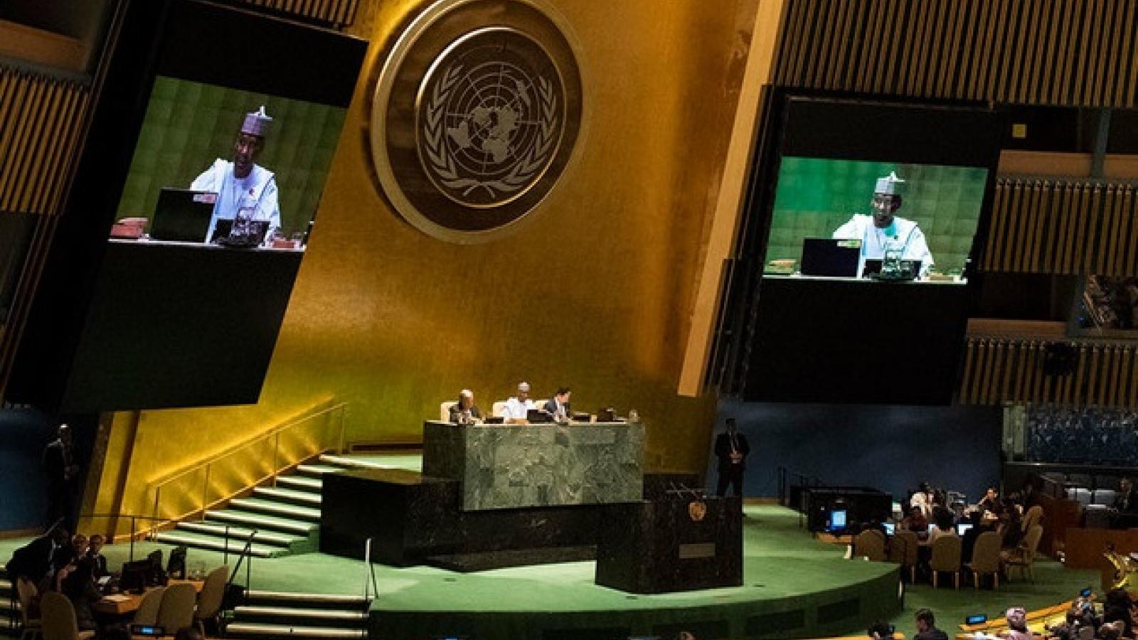 Khóa họp Đại hội đồng Liên Hợp Quốc: Thiện chíhòa giải và đoàn kết