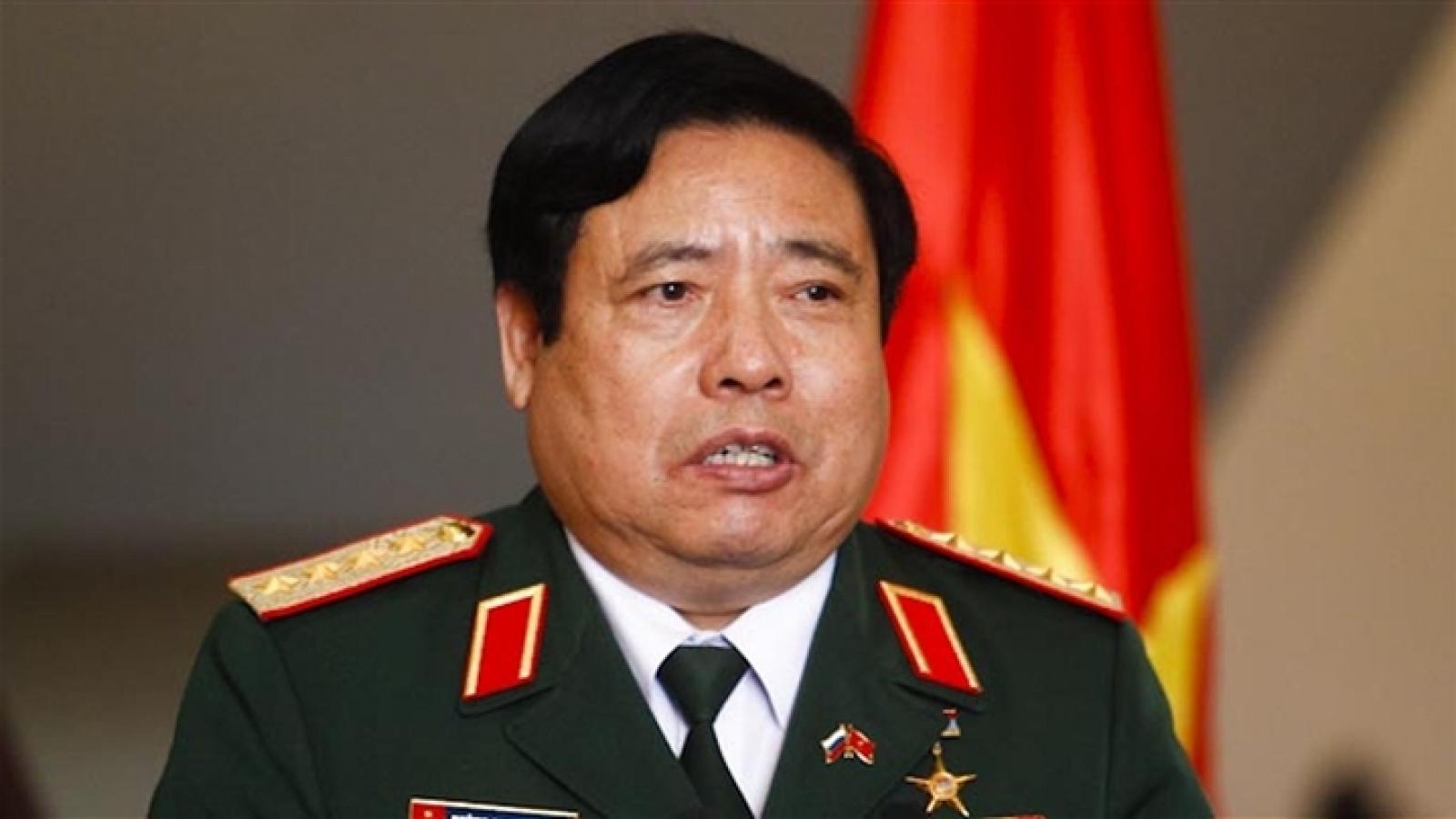 Lễ tang Đại tướng Phùng Quang Thanh được tổ chức với nghi thức cấp Nhà nước