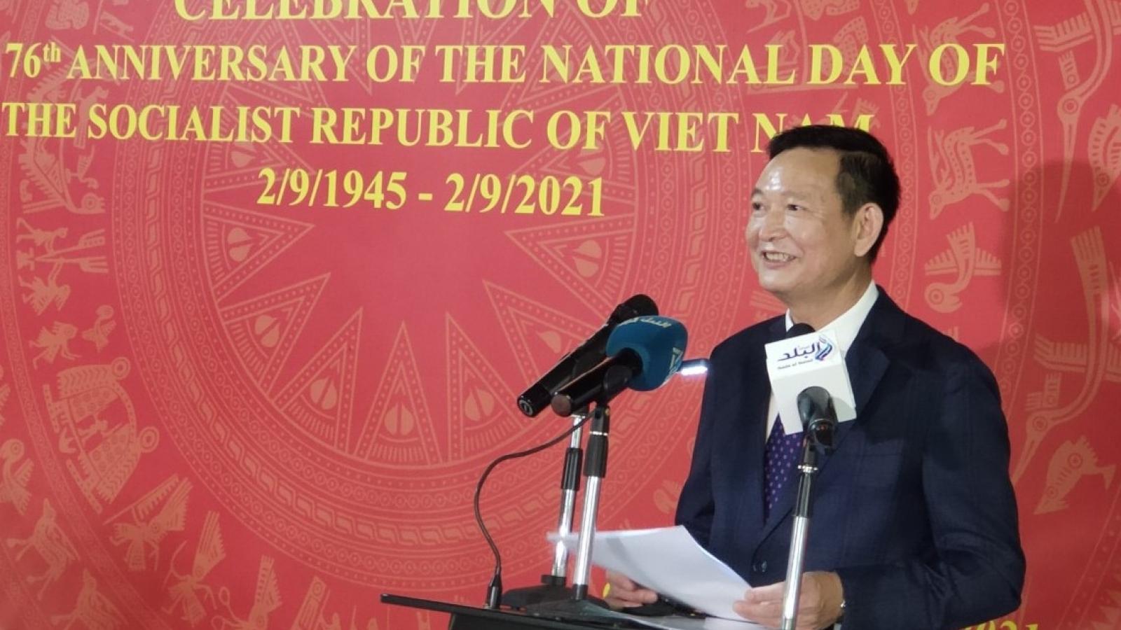 Kỷ niệm 76 năm Quốc khánh nước CHXHCN Việt Nam tại Ai Cập