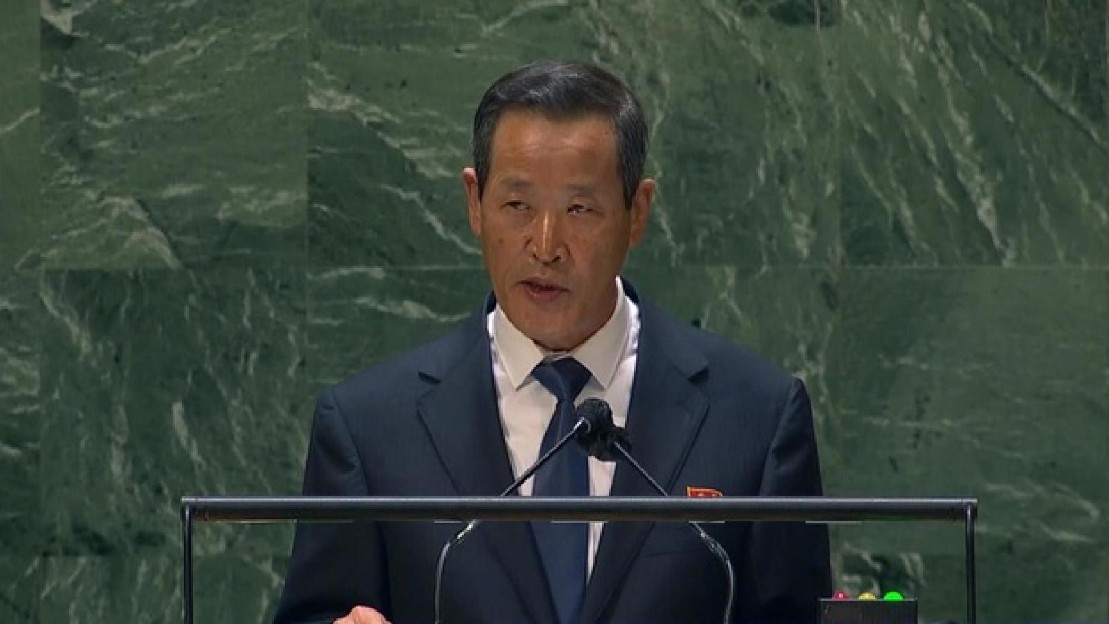 Triều Tiên gửi thông điệp cứng rắn đến Mỹ qua vụ phóng tên lửa?