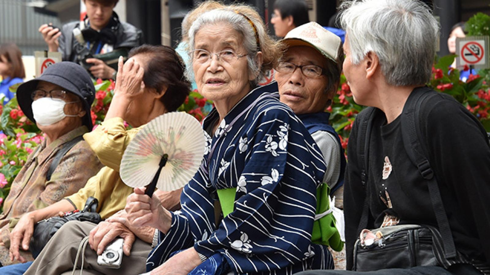 Tình trạng lão hóa dân số của Nhật Bản ngày càng trầm trọng