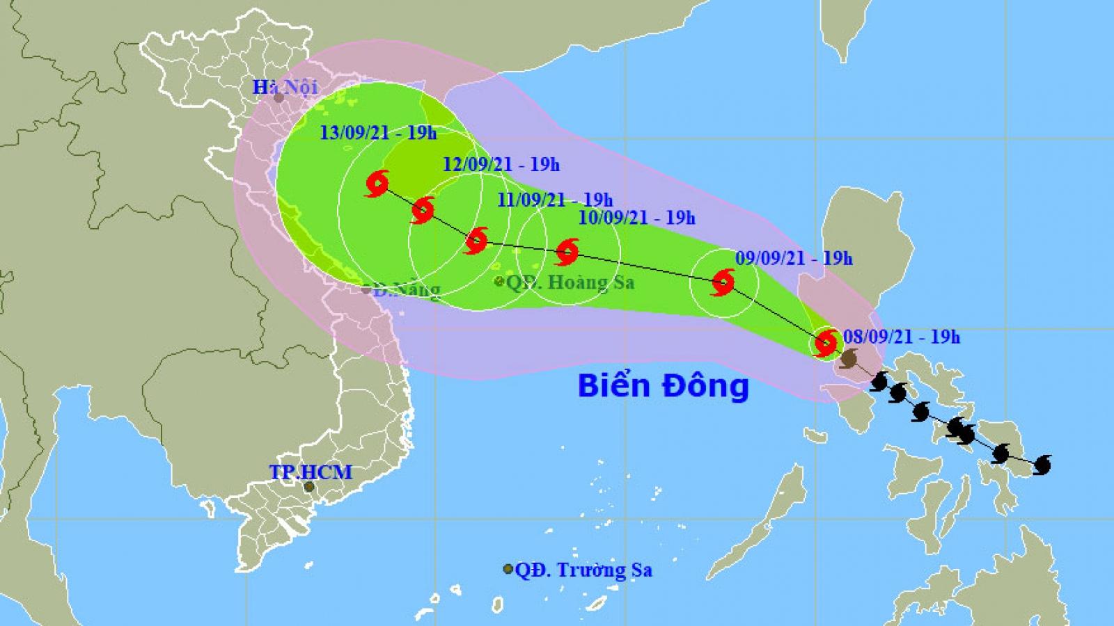 Bão Conson giật cấp 11 sẽ đi vào Biển Đông trong đêm nay