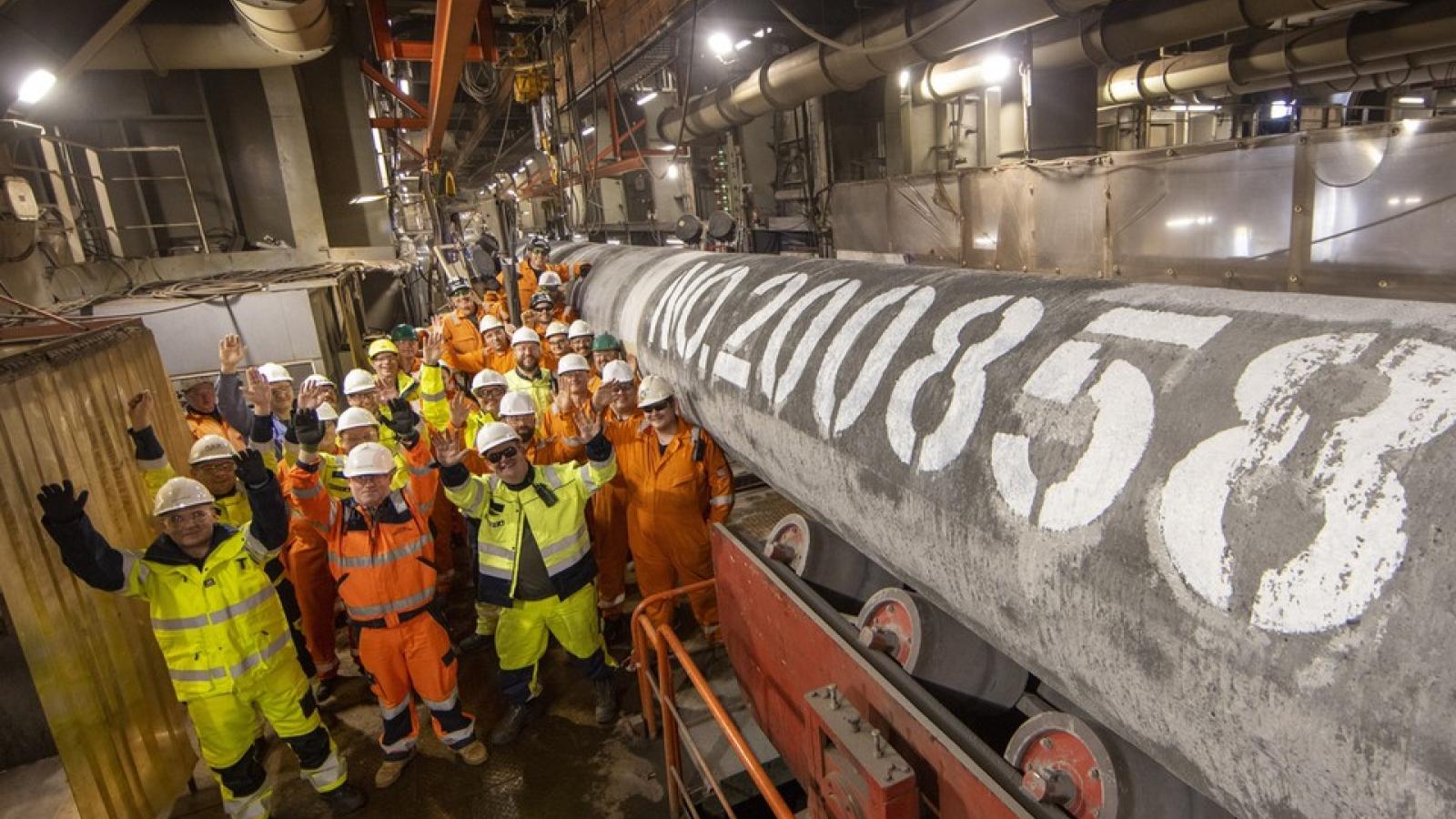 Nga thông báo hoàn thành xây dựng dự án Dòng chảy phương Bắc 2