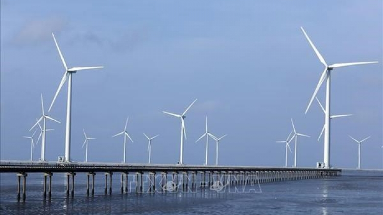 Vietnam sees fastest rise in solar, wind power rate in national electricity structure