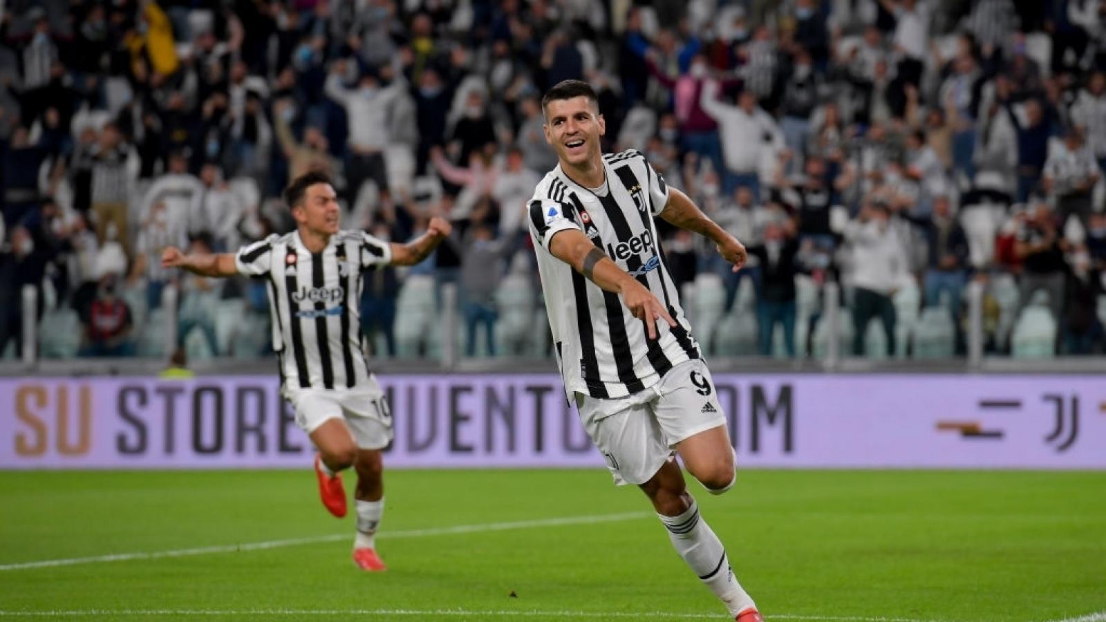 Juventus rơi xuống nhóm đèn đỏ sau trận hòa trước AC Milan