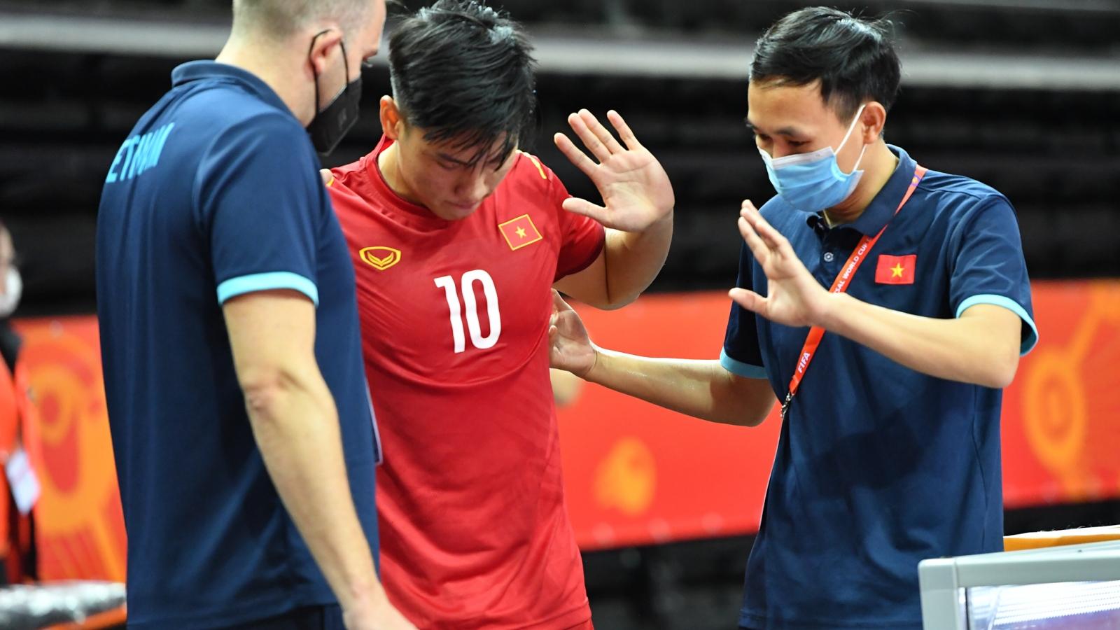 ĐT Futsal Việt Nam nhận tin không vui trước vòng 1/8 World Cup
