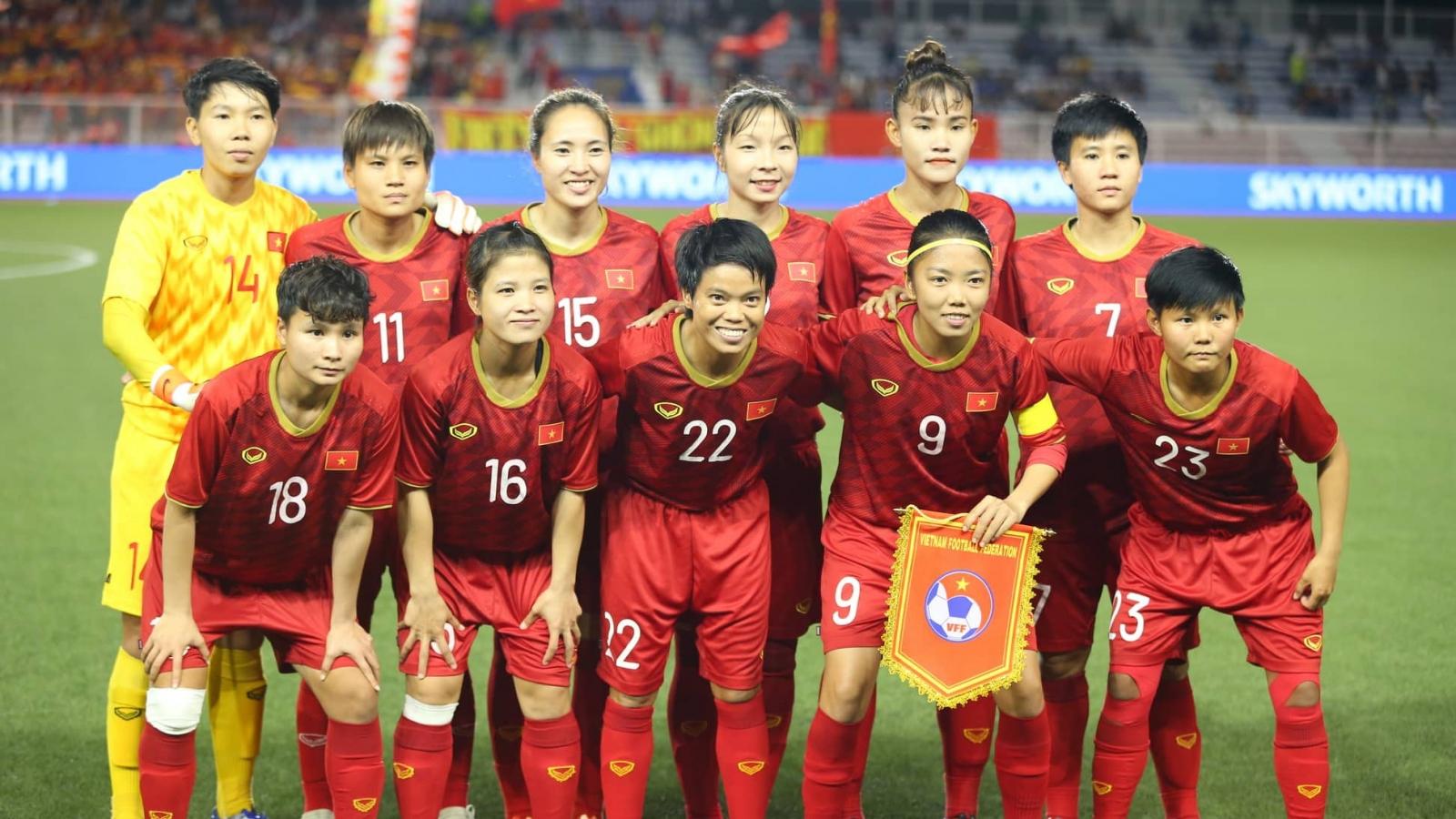 ĐT nữ Việt Nam khởi đầu hành trình săn vé World Cup trên mặt sân cỏ nhân tạo