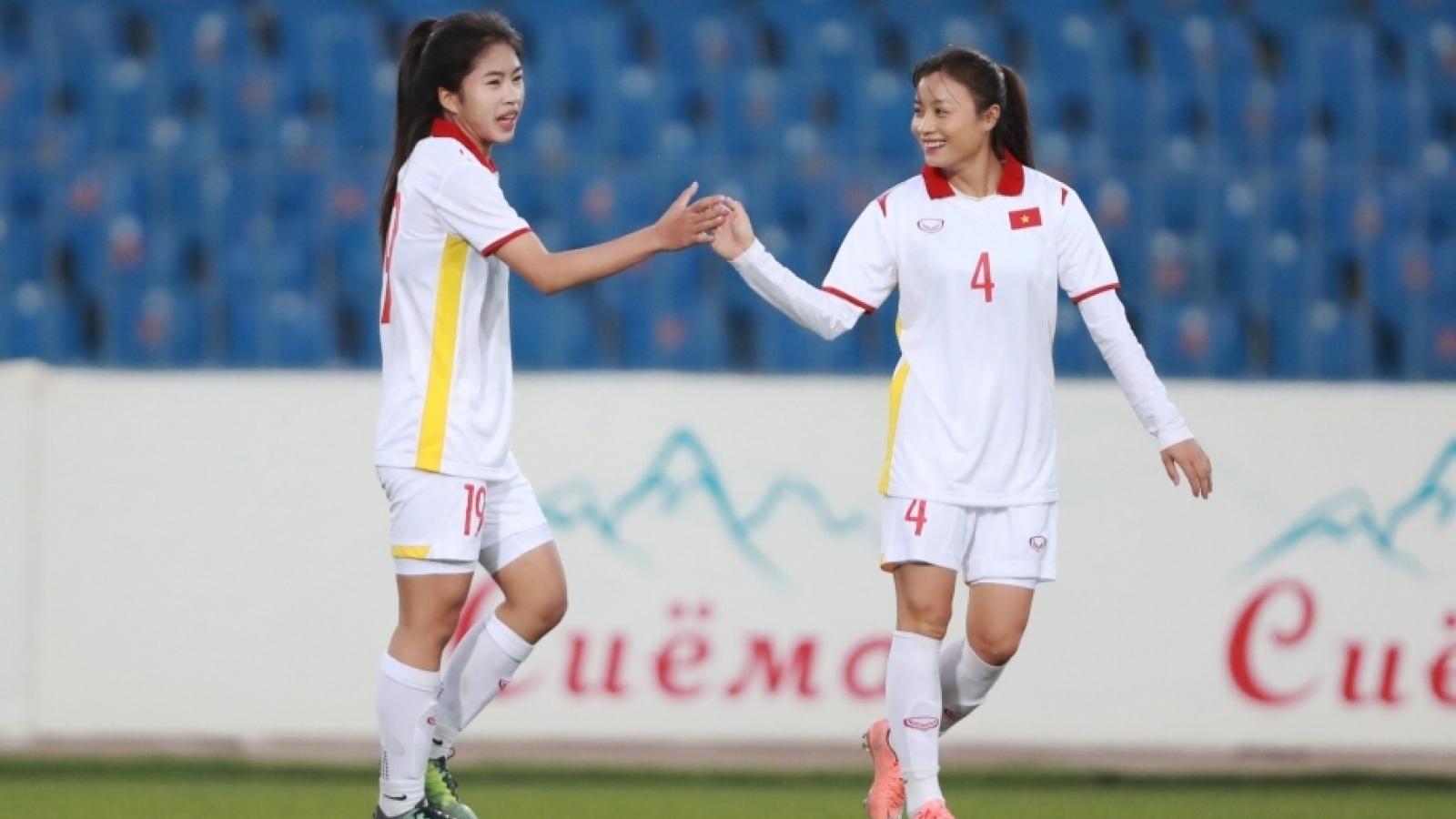 ĐT nữ Việt Nam chỉ cần hoà Tajikistan là đoạt vé dự VCK Asian Cup 2022