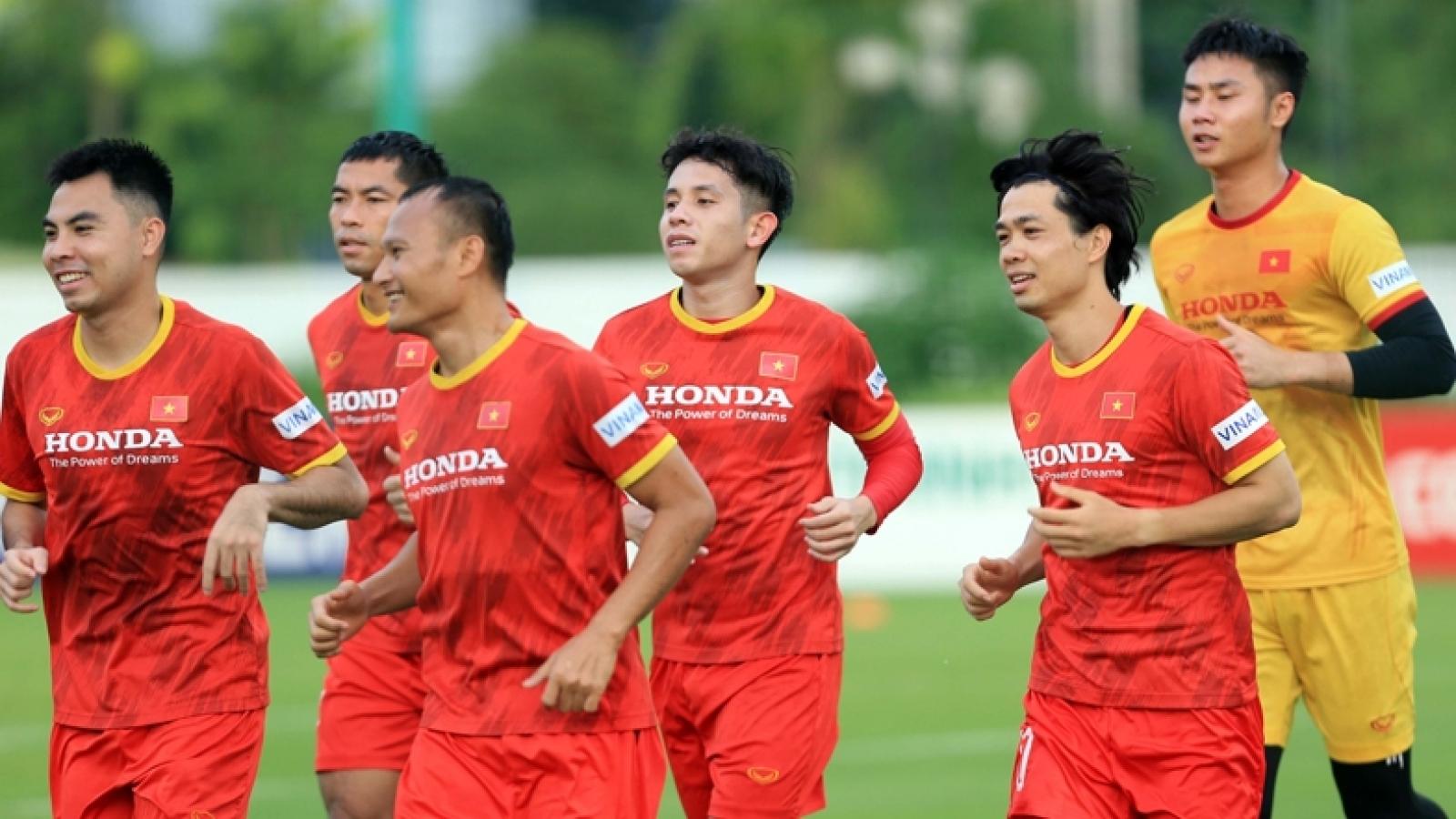 ĐT Việt Nam nằm trong tốp 15 đội bóng mạnh nhất châu Á 2021
