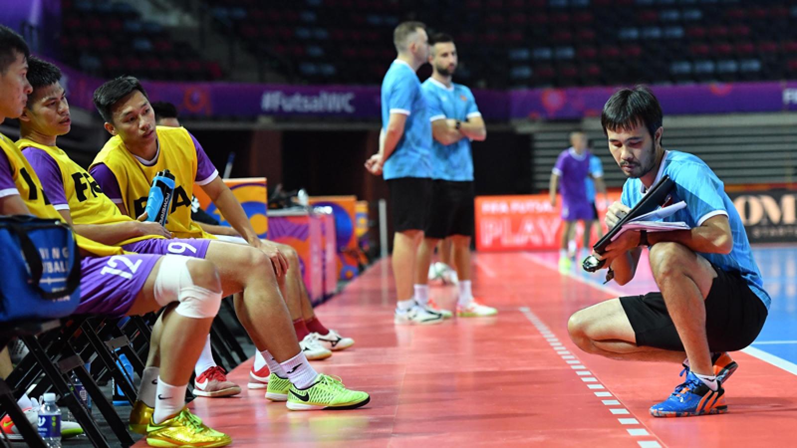 ĐT Futsal Việt Nam đã có phương án đối phó với ĐT Futsal Brazil