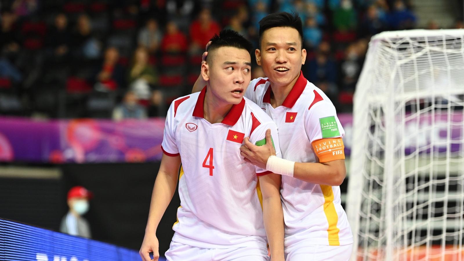 BXH các đội thứ 3 có thành tích tốt ở Futsal World Cup 2021: Việt Nam, Thái Lan mừng thầm