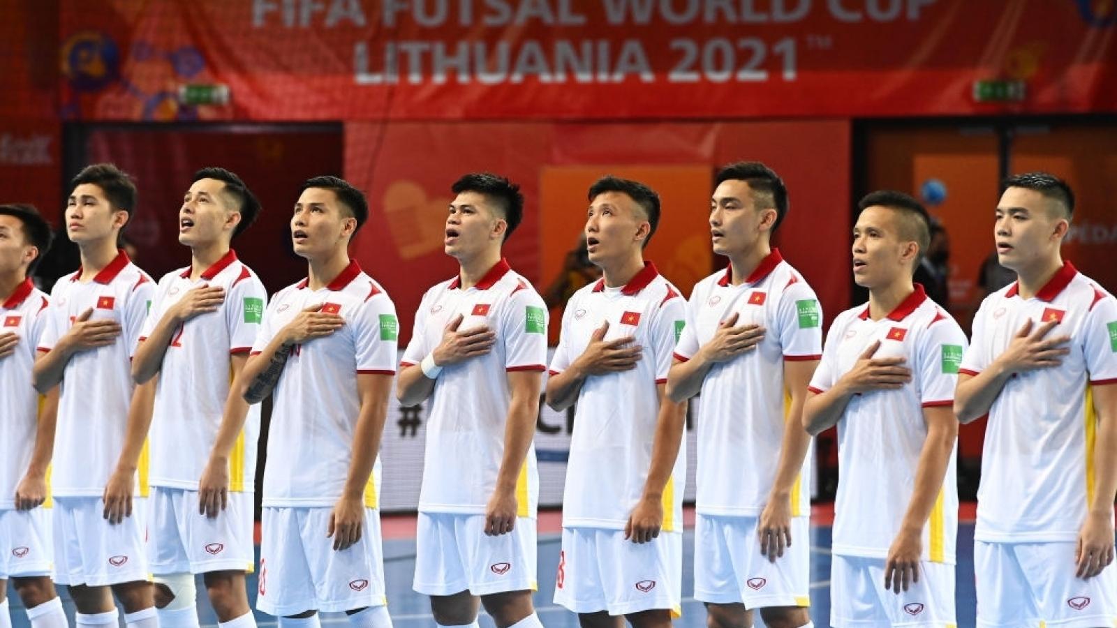 Trưởng đoàn Trần Anh Tú nhận diện sức mạnh của ĐT Futsal Nga