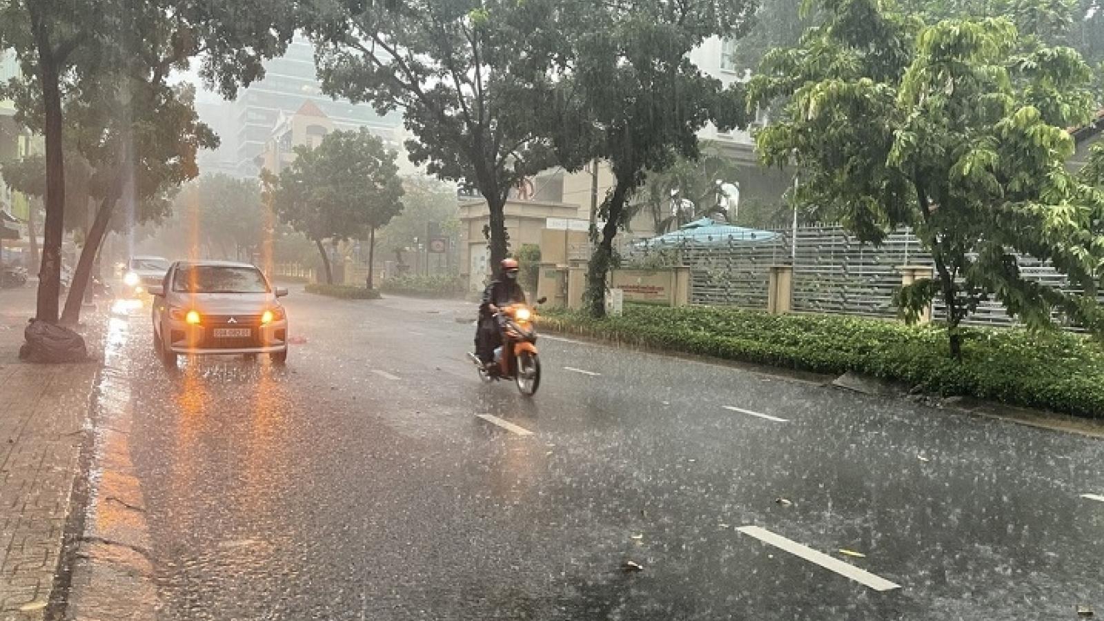 Thời tiết hôm nay, 11/9: Ảnh hưởng Bão số 5, Tây Nguyên và miền Trung có mưa to