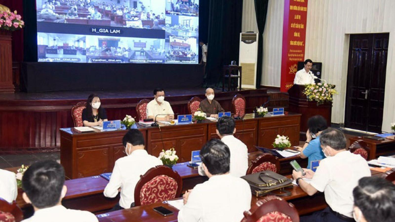 Bí thư Thành ủy Hà Nội: Tạo thuận lợi tối đa cho sản xuất kinh doanh