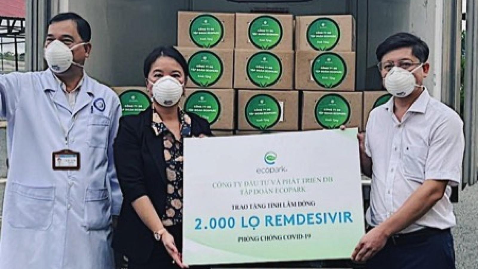 Lô thuốc 200.000 lọ Remdesivir đặc trị Covid-19 về Việt Nam được phân bổ thế nào?