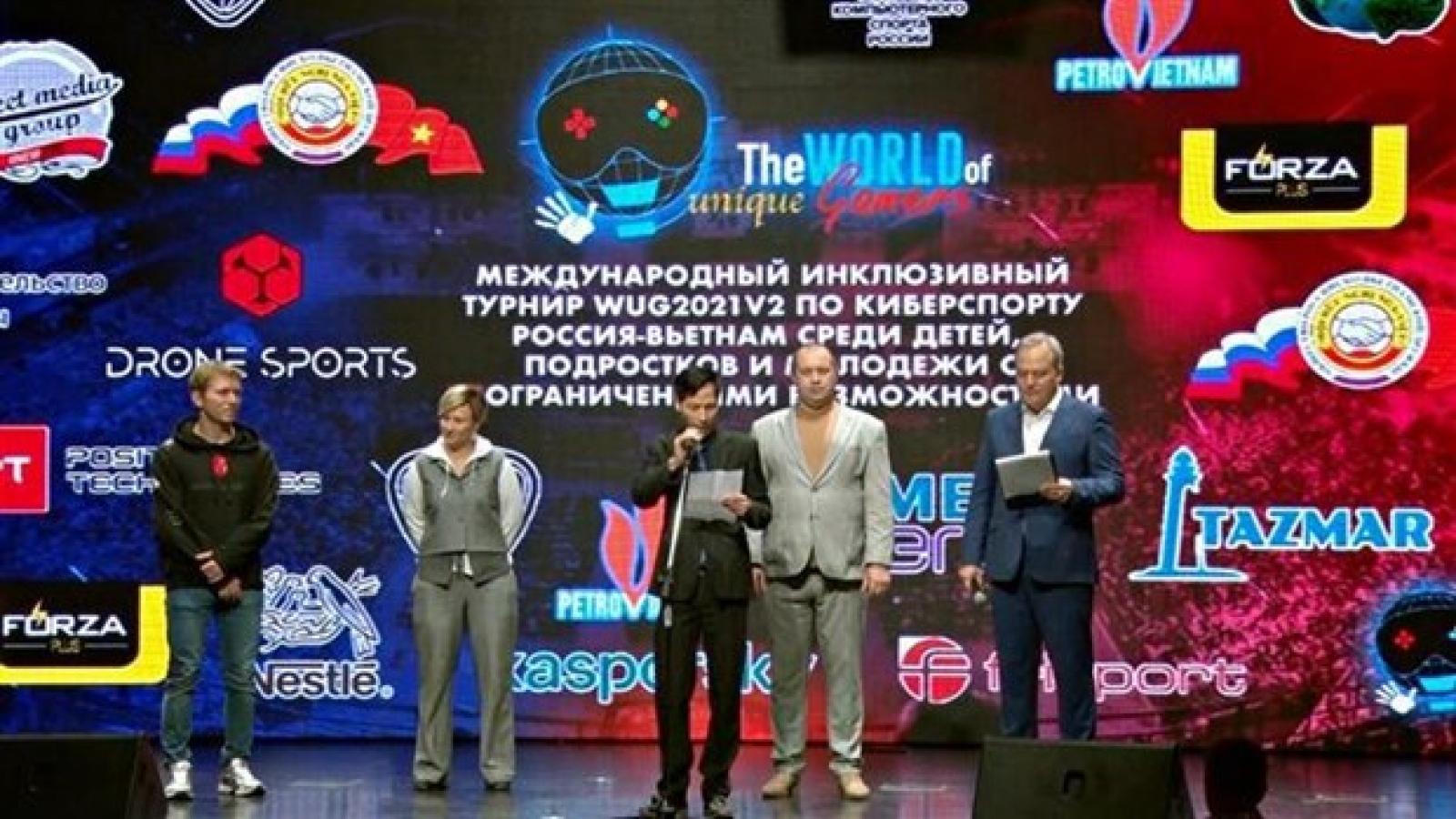 Russia-Vietnam eSports championship helps tighten humane cooperation