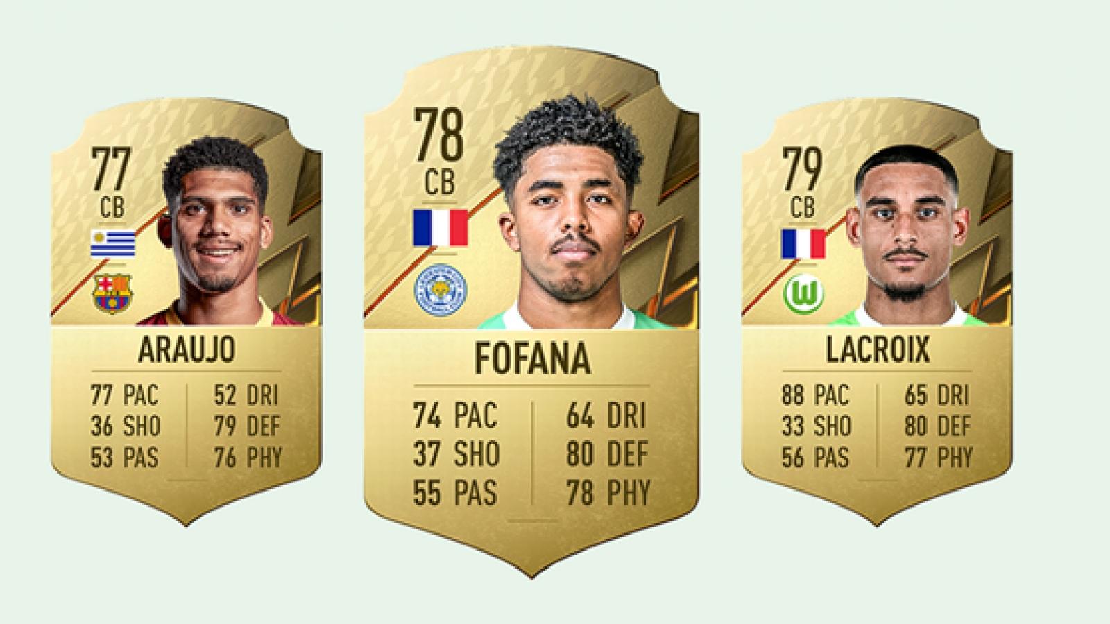 Top 10 cầu thủ có bước phát triển thần tốc trong FIFA 22