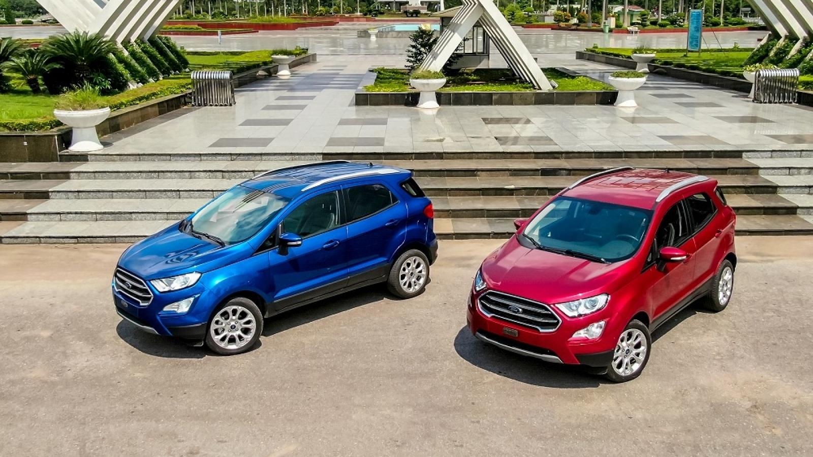 Ford triệu hồi hơn 300 xe EcoSport tại Việt Nam