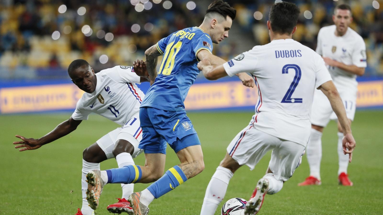 Bị Ukraine cầm hòa, ĐT Pháp tiếp tục gây thất vọng ở vòng loại World Cup 2022