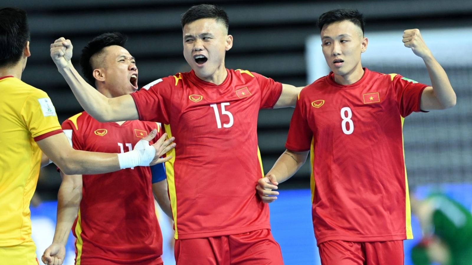 Giành vé đi tiếp ở World Cup, ĐT Futsal Việt Nam được thưởng 1 tỷ đồng