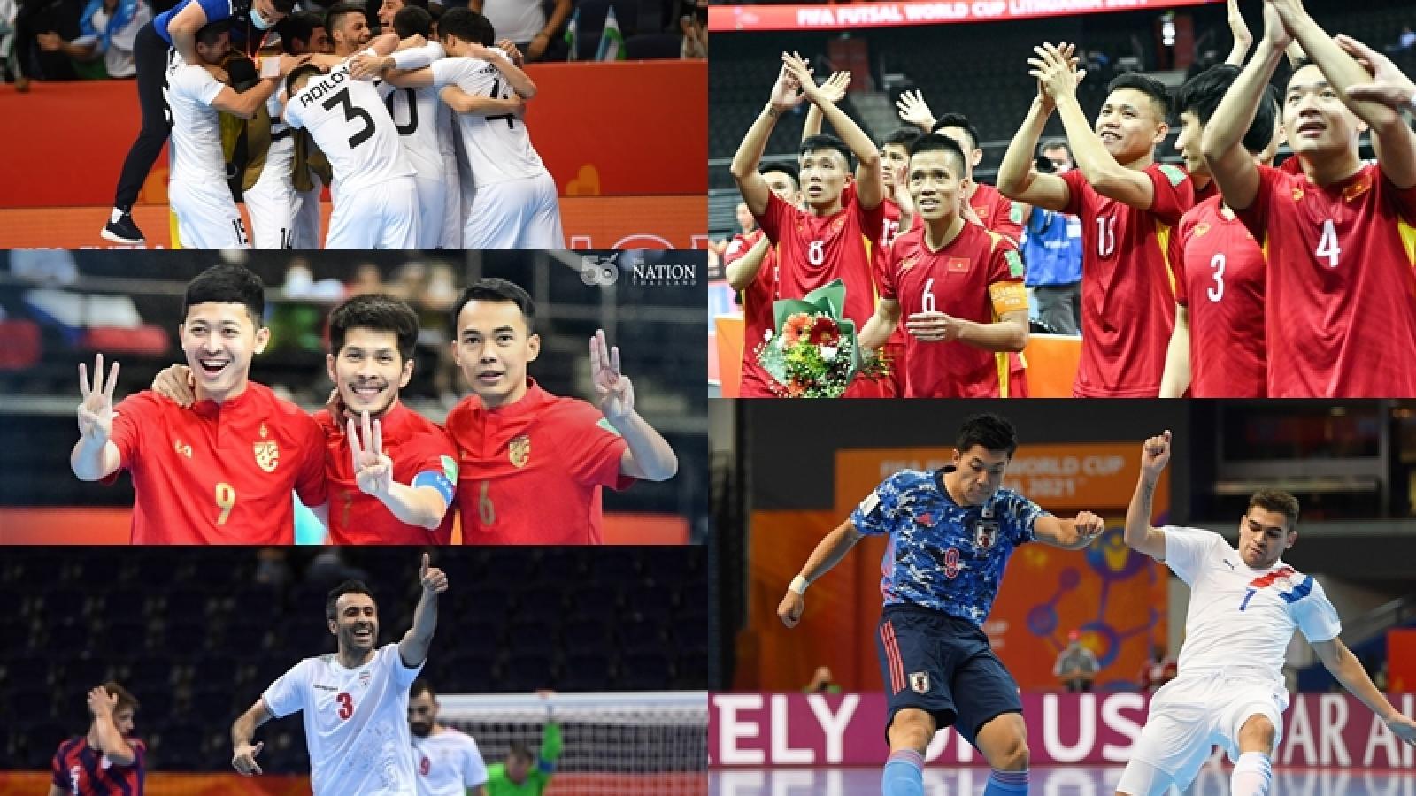 Danh sách 16 đội vào vòng 1/8 Futsal World Cup: Bóng đá châu Á lập kỳ tích
