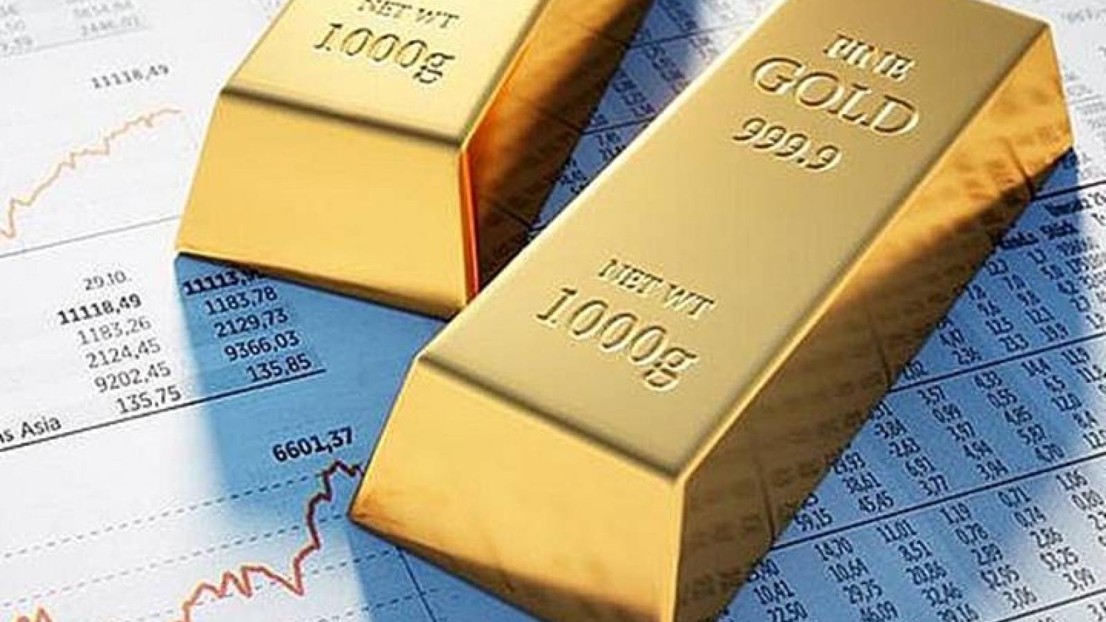 Giá vàng thế giới bất ngờ tăng trở lại