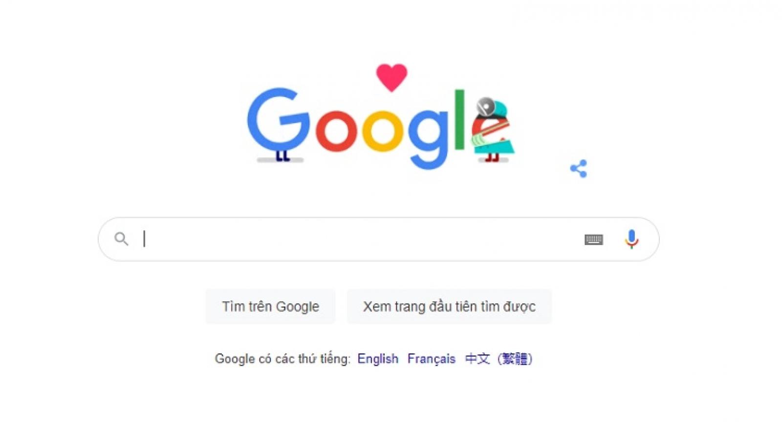 Google Doodle honours COVID-19 frontline workers