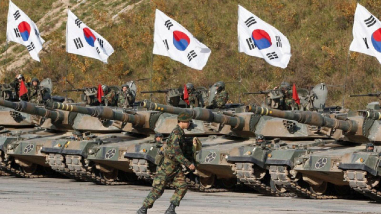 Hàn Quốc tăng ngân sách quốc phòng trong 5 năm tới