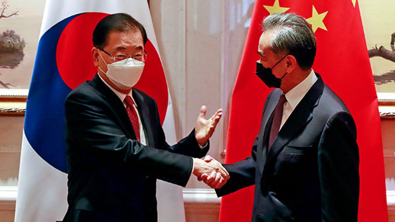 Ngoại trưởng Trung Quốc sẽ thăm Hàn Quốc