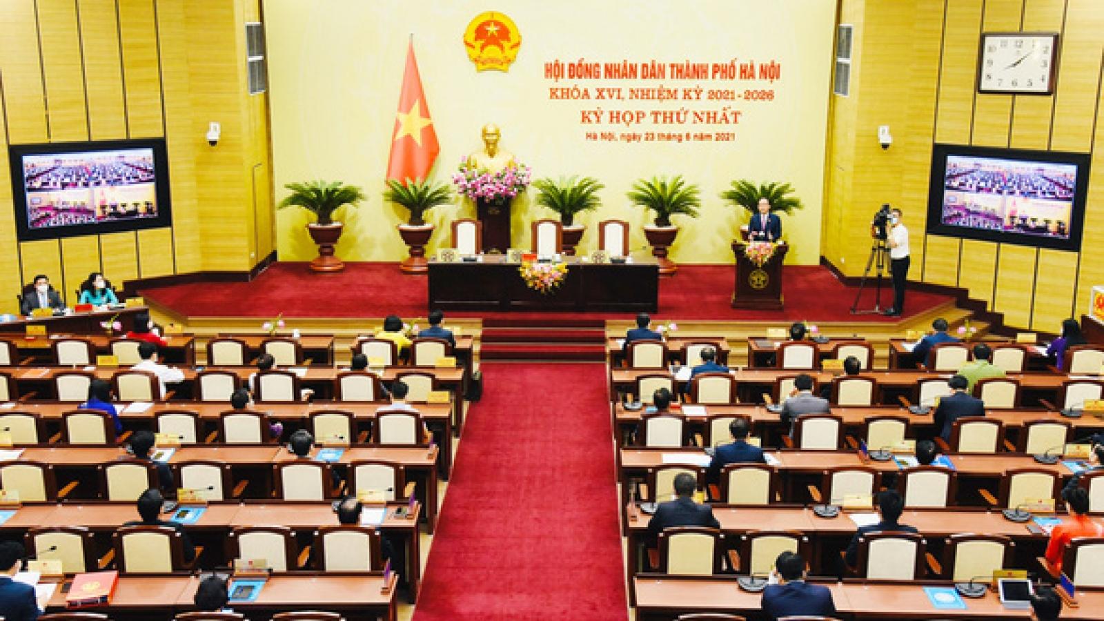 HĐND thành phố Hà Nội sẽ quyết sách nhiều vấn đề quan trọng tại kỳ họp thứ 2
