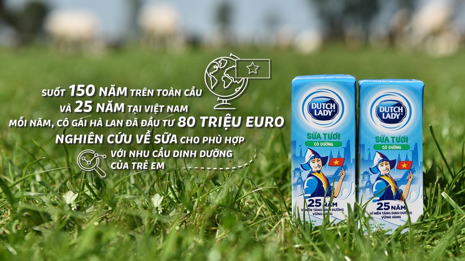 Top 3 bảng xếp hạng tiếp cận dinh dưỡng toàn cầu lầu đầu tiên ghi nhận một tập đoàn sữa
