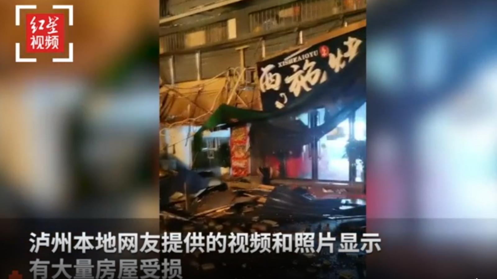 Trung Quốc xảy ra động đất 6 độ richter ở Tứ Xuyên