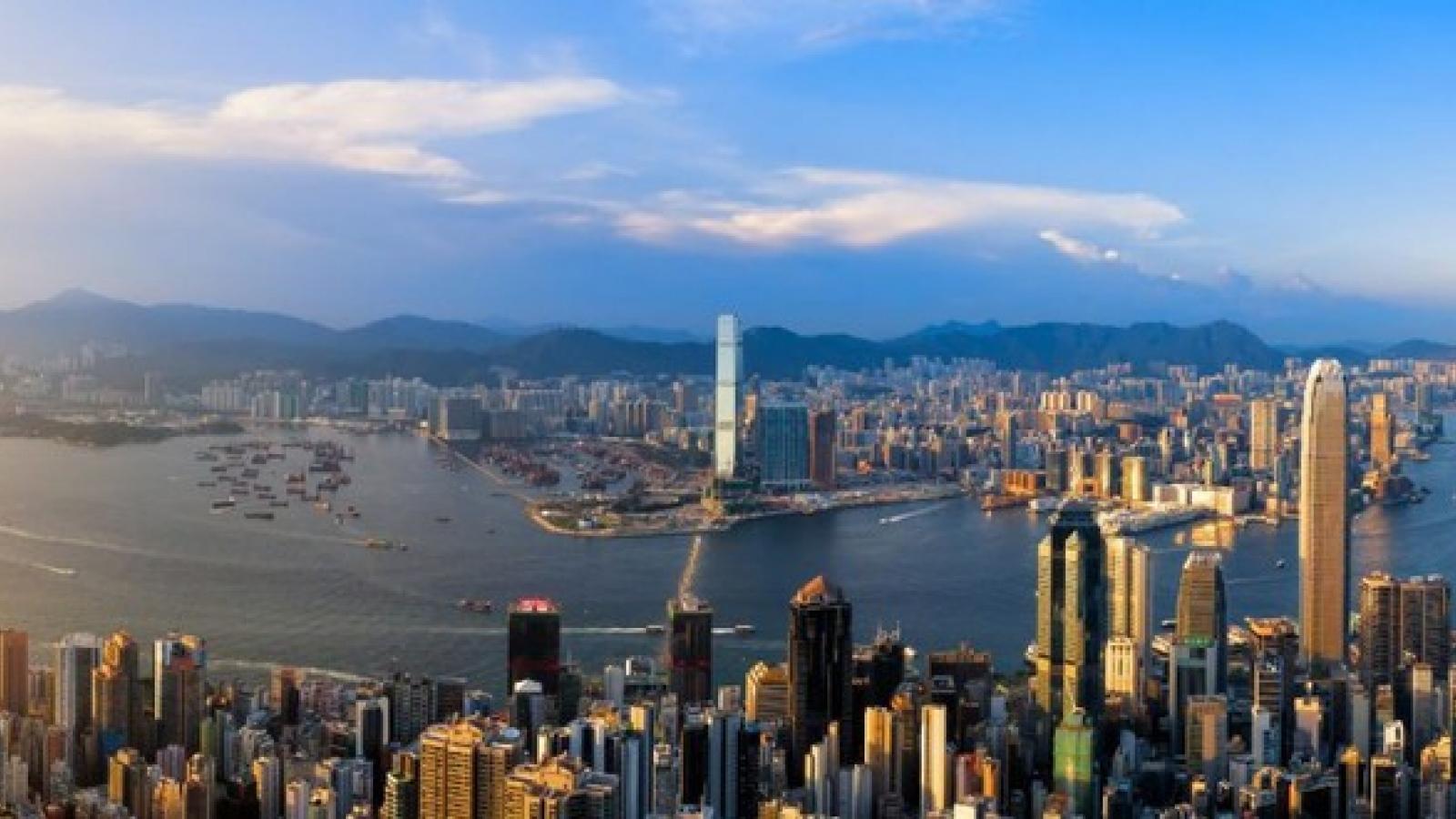 Hong Kong (Trung Quốc) tiếp tục được đánh giá là nền kinh tế tự do nhất thế giới