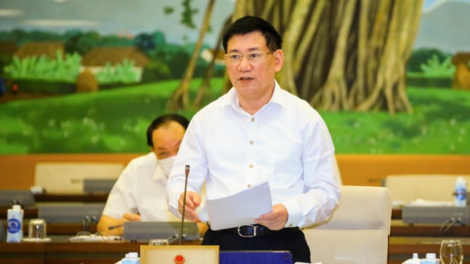 Bộ trưởng Bộ Tài chính: Trình chuyển nguồn 14.620 tỷ đồng để chi chống dịch Covid-19